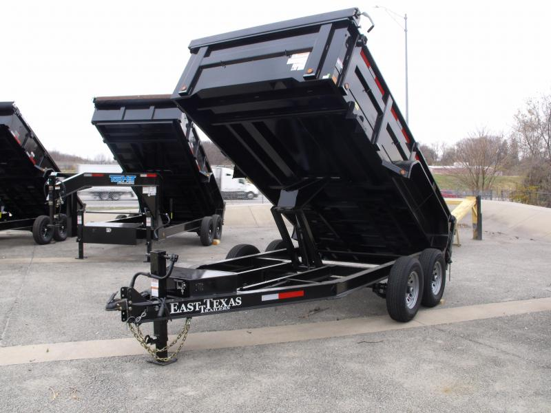 Dump Trailer 83 X 14 Spreader Gate 14000 GVW