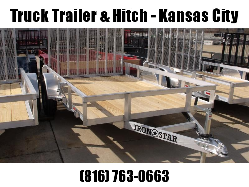 Aluminum 77 X 10  Utility Trailer With Ramp