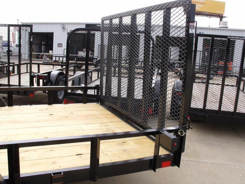 ATV Trailer 77 X 14 Side Load Rear Load 2990 Axle