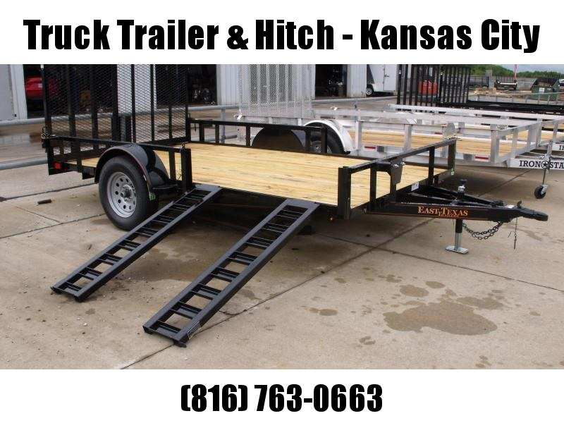 Utility Trailer 83 X 14 Side Load/Rear Load Spring Assisted Ramp