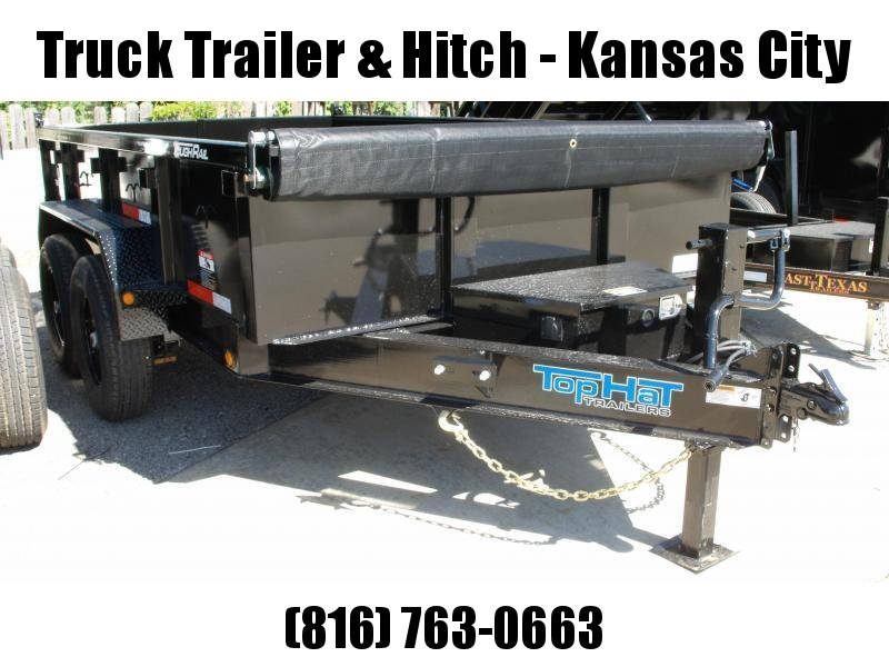 Dump Trailer 83 X 12  Power Up/ Power Down    14000 GVW   Dump Trailer
