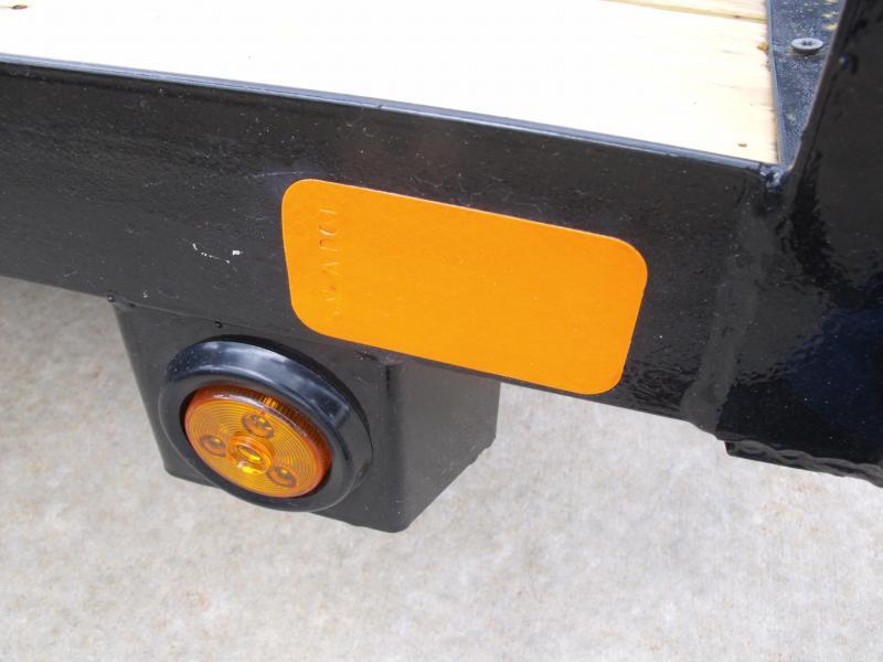 Premium Utility 77 X 12 Spring Assist Gate LED's