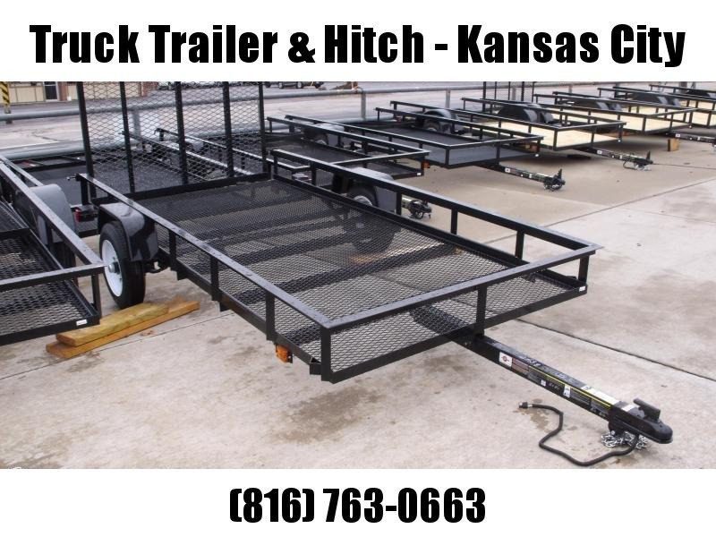 Utility Trailer 4 X 8 Mesh Floor Rear Gate