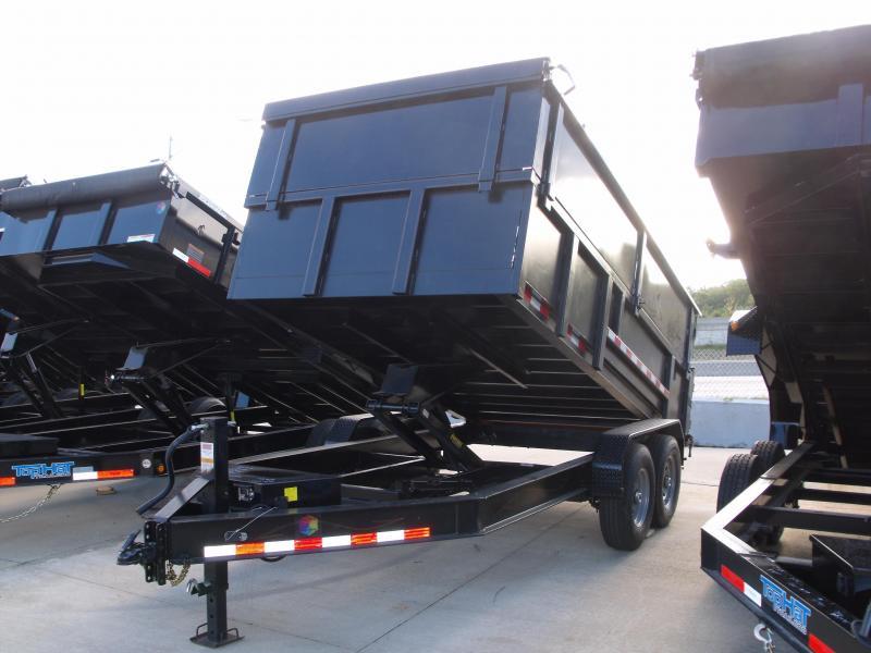 High-Wall   Dump Trailer 83 X 14 Tarp Included 14K Dump Trailer Wireless Remote