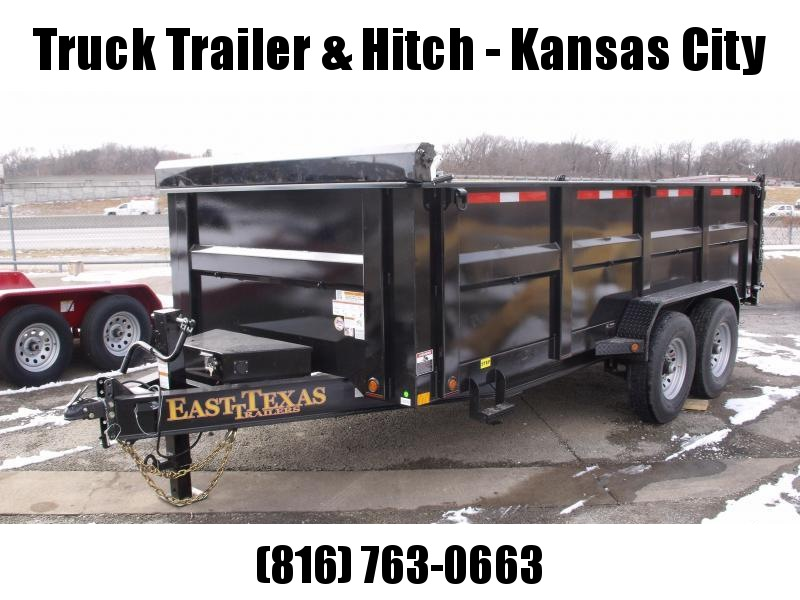 Dump Trailer  83 X 14 Scissor Lift  3' Walls I-Beam Type 14000 Gvw   Hi-Wall  (20 K  Hoist) Tarp Included 14 Ply Tires