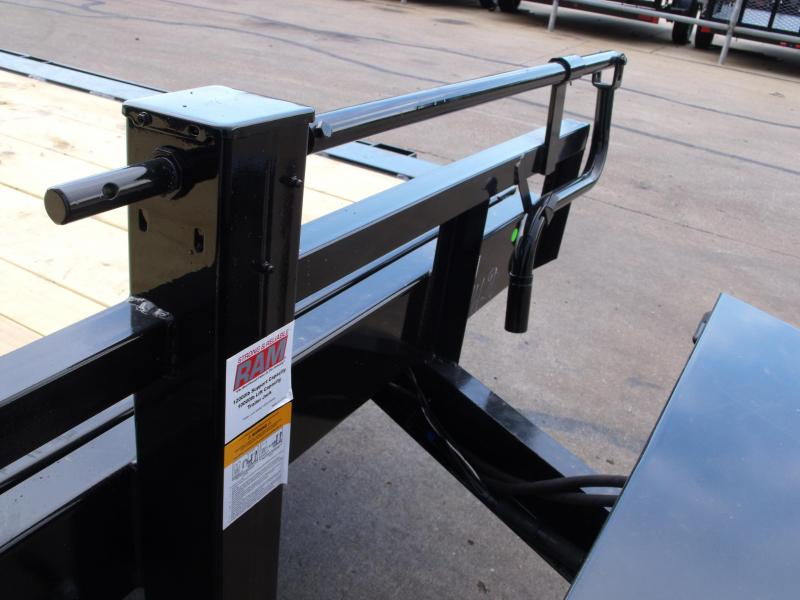 Tilt Trailer 83 X 20  Equipment Trailer 14000 GVW Torflex Axles