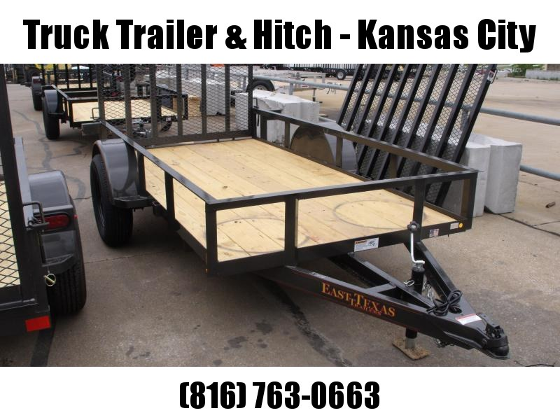 Utility Trailer 5 X 10 Spring Assisted Ramp 2990 Axle Charcoal In Color