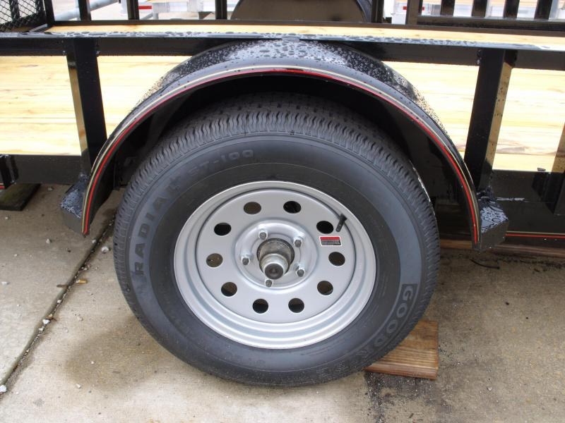 Utility Trailer 83 X 12 Side Load/Rear Load Spring Assisted Ramp