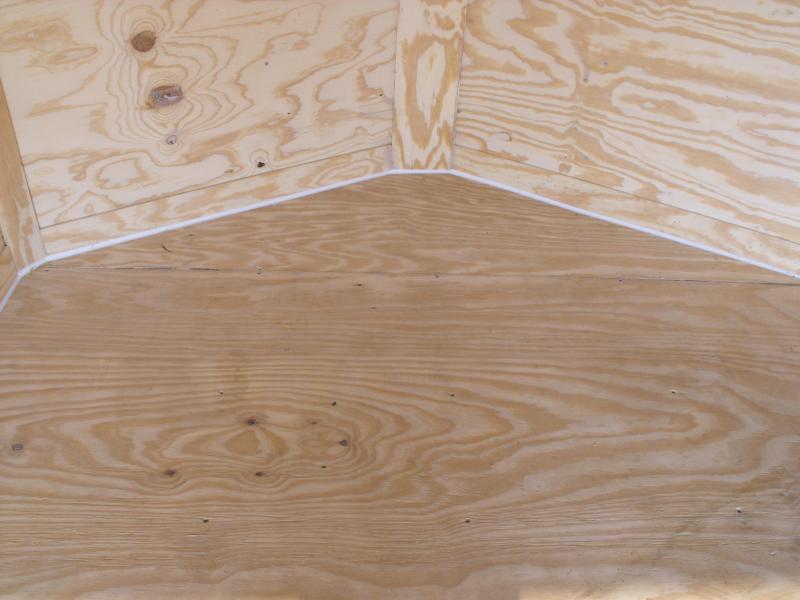 Enclosed Trailer 7 x 16  Ramp 7' Interior White  In Color Ramp Door  9990  GVWR