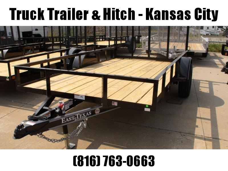 Utility Trailer 77 x 12   Ramp 2990 # Axle