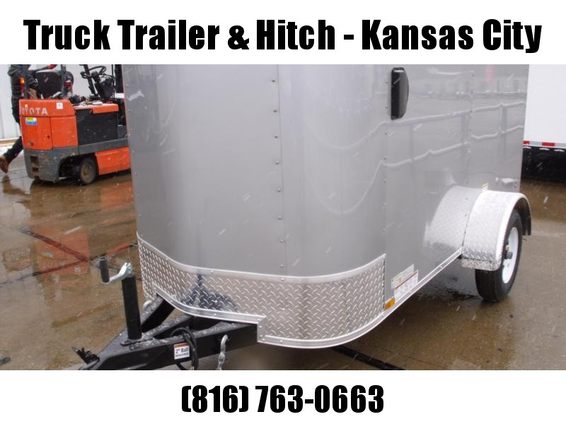 Enclosed Trailer For The Smaller Vehicles  4 X 8 Barn Door 4'
