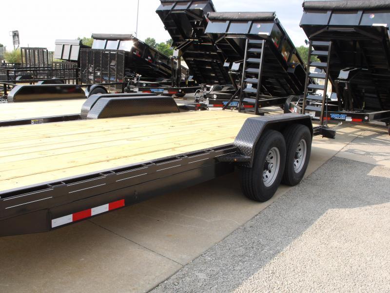 "Equipment Trailer 82"" X 20' Dove 14000 GVWR"