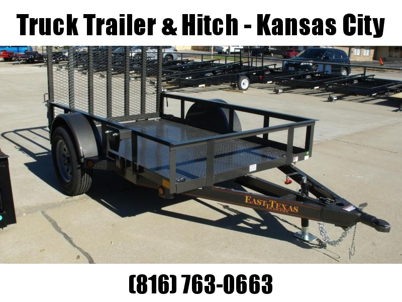 Premium Utility Trailer 5 X 8  Tube Gate 2990 Axle