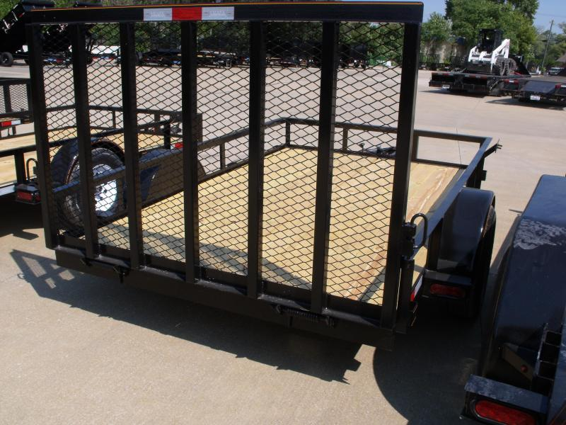 """Utility Trailer  76"""" X 10  Spring Assisted Gate 2990 Axle"""