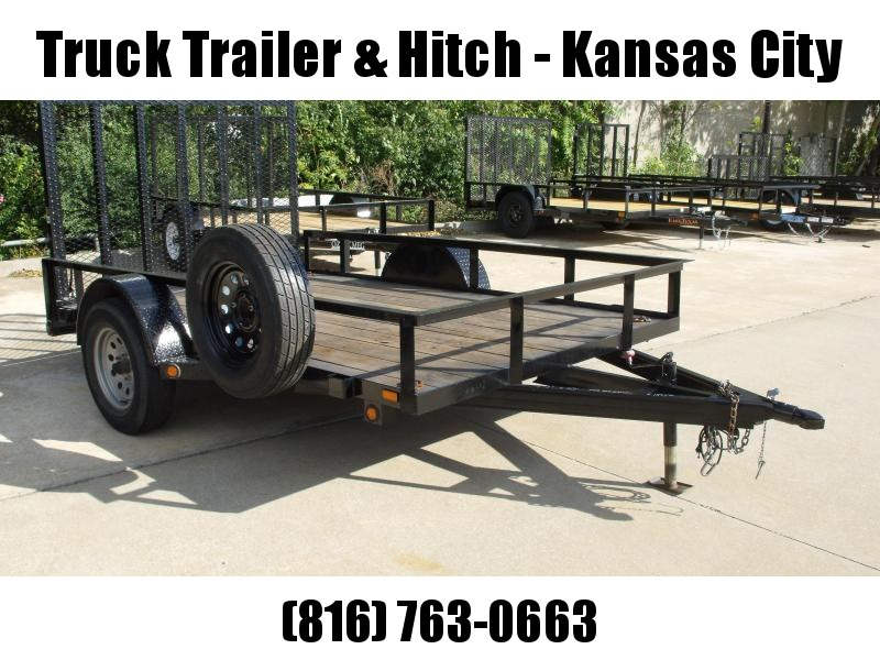 Used Trailer 77 X 10 Maxxd Ramp Spare Tire Included