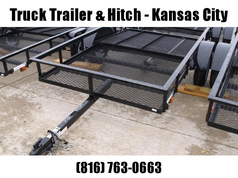 Utility Trailer 5 x 8   Mesh Floor Rear Gate