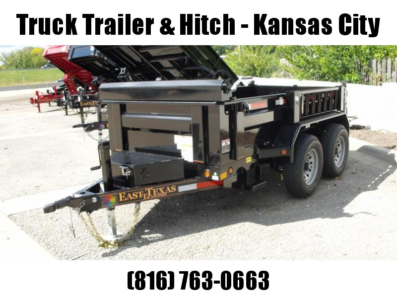 Dump Trailer 5 X 10  Spreader Gate 9990 GVW  ((Tarp Included ))4 Wheel Brakes