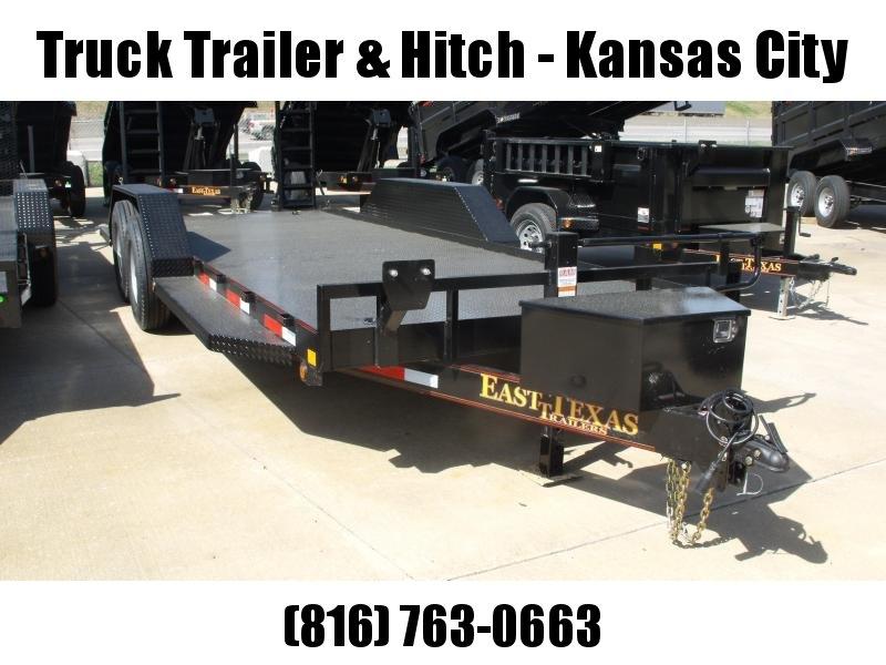 "Bob Cat  Trailer Low Profile  81 X 20 Steel Deck """"  14000 GVW HD Ramps  Drive Over Fenders"