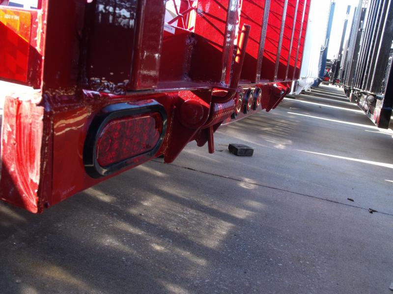Premium Utility Trailer  5 X 8  Tube Gate Candy Apple Red   In Color 2990 Axle