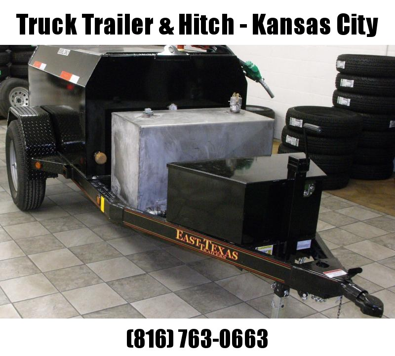 300 GAL DIESEL TANK TRAILER 4 X 6 With Deff Mobile Fuel Tank