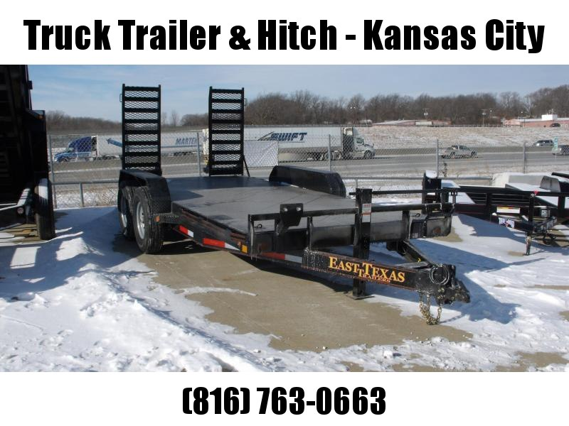 Equipment Trailer - Car Hauler 83 X 16  Metal Trailer   Combo Ramps Covered With #6 Mesh  14000 GVW