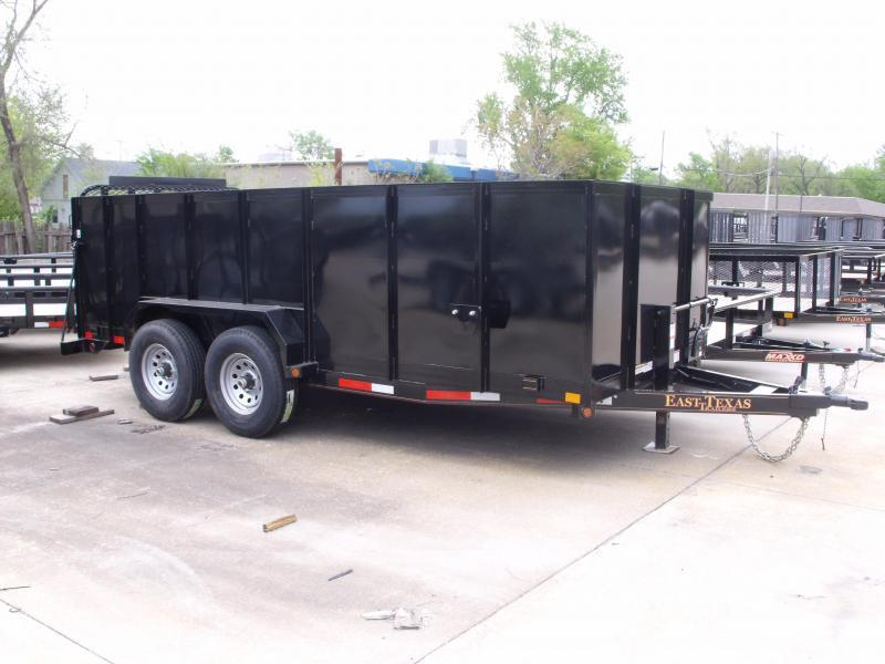 High-Wall Smooth Sides 4'  Landscape Trailer / Roofing Trailer  83 X 16  Ramp 12000 GVW