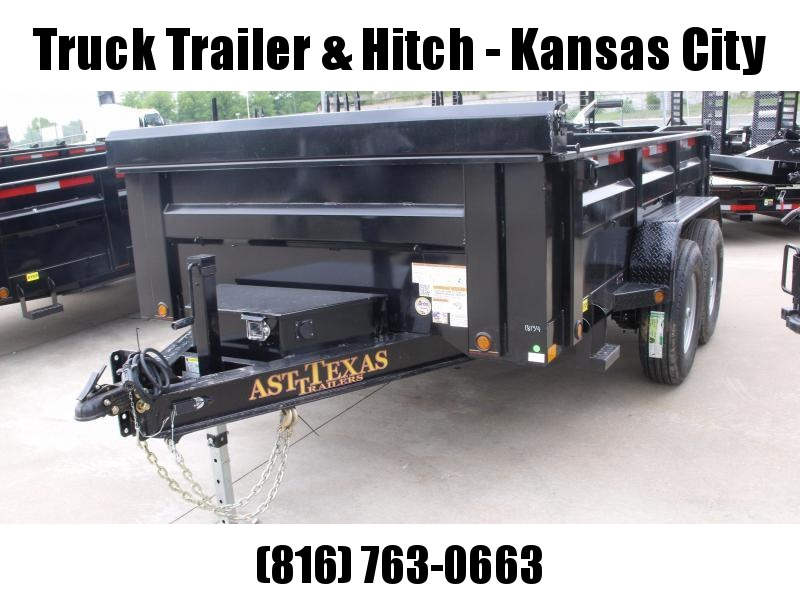 Dump Trailer 83 X 14 Scissor 12000 GVW Tarp Included  Wireless Remote Included