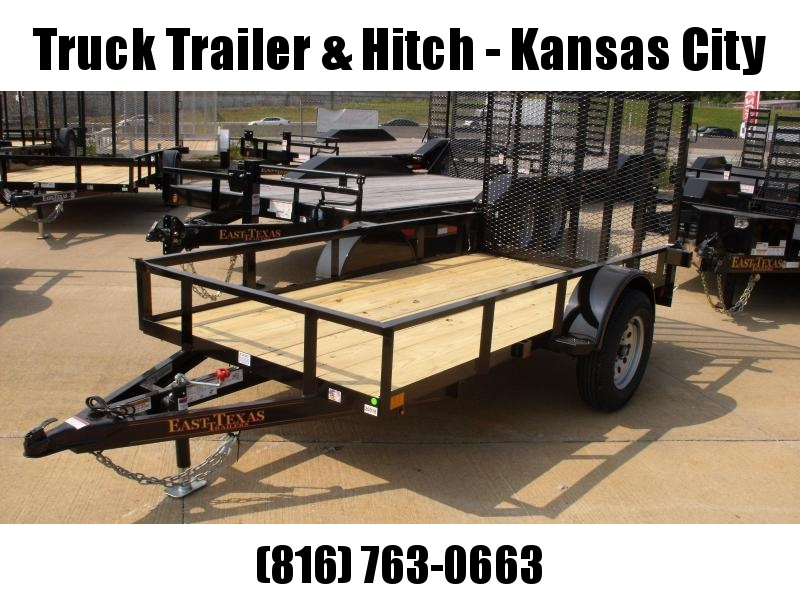 Utility Trailer 5 X 10 Spring Assisted Ramp 2990 Axle