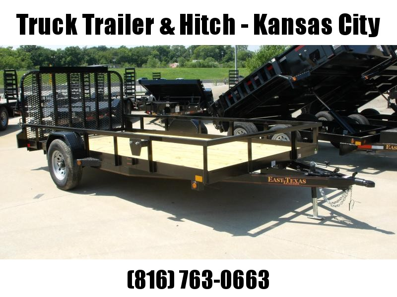 Utility Trailer 83 X 14 Ramp 5080 Axle Brakes Wrapped Tongue Tube Top HD/Ramp