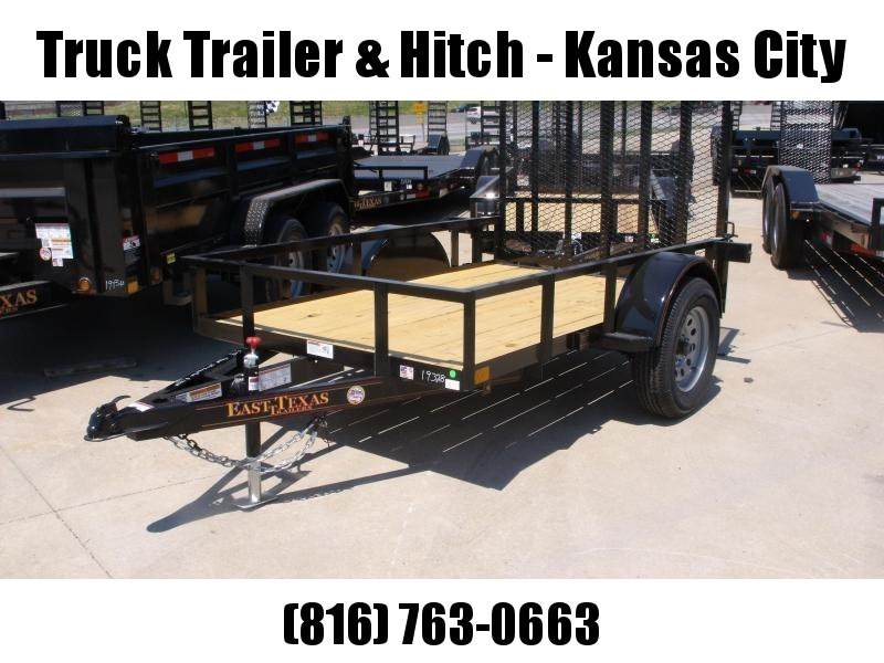 Utility Trailer 5 x 8 Spring Assisted Ramp  2990 # Axle