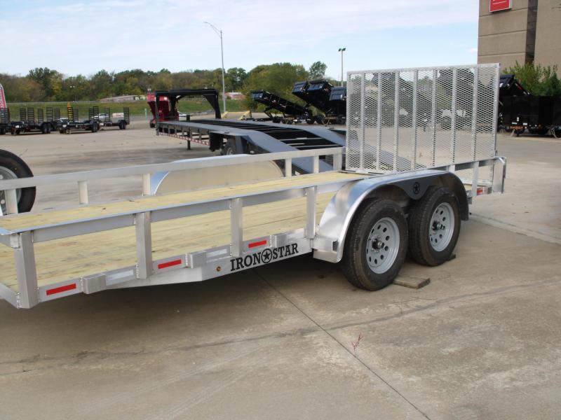 Aluminum Trailer 83 X 16 Ramp 4 WL Brakes