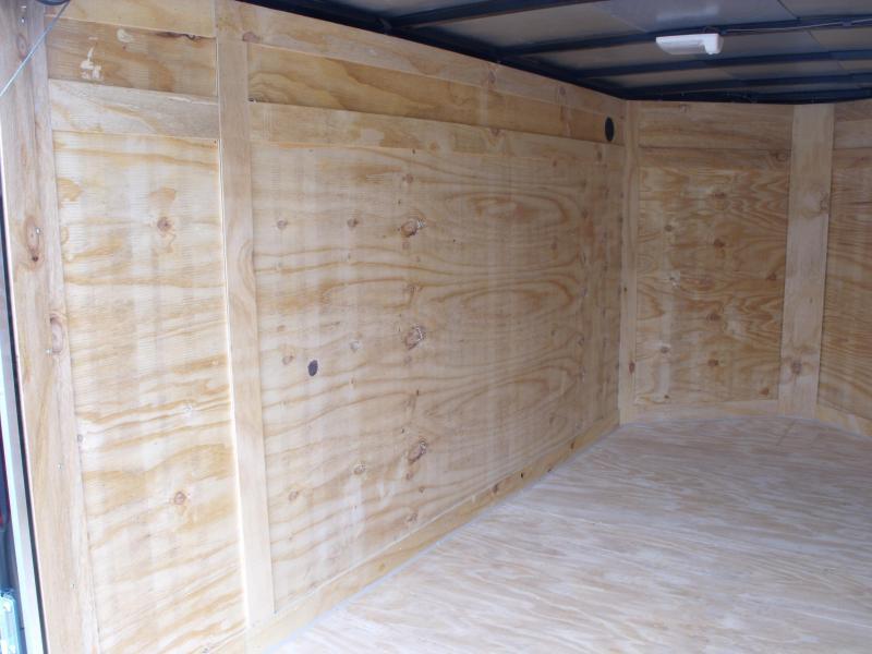Enclosed Trailer 5 x 10  Ramp Door    BLACK In Color All Tube Construction