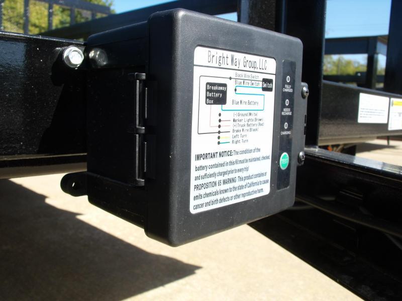 Tandem Axle Premium Trailer 83 X 16 Tube Gate 4 WL Brakes