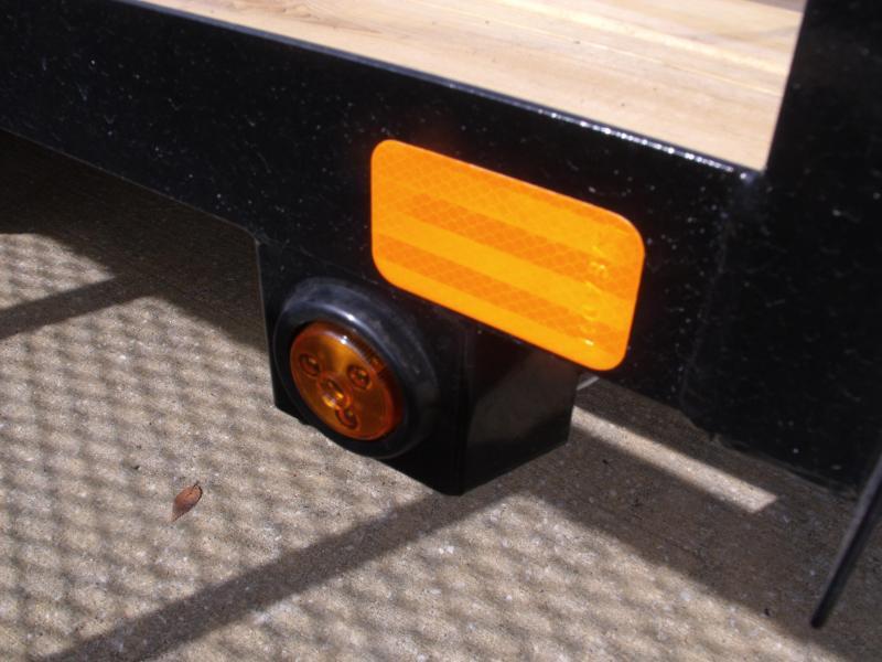 Premium Utility 72 X 10 Spring Assist Gate LED's