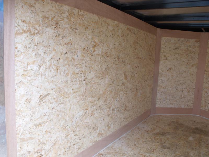 Enclosed Trailer 4 X 8 V-Nose Barn Door 2000 LB Axle