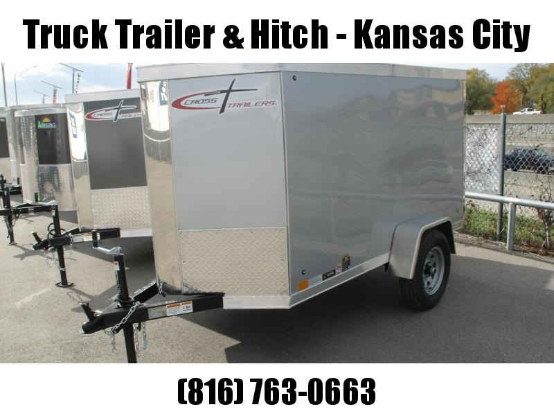 Enclosed Trailer 4 X 8 V-Nose Barn Door 2000 LB Axle