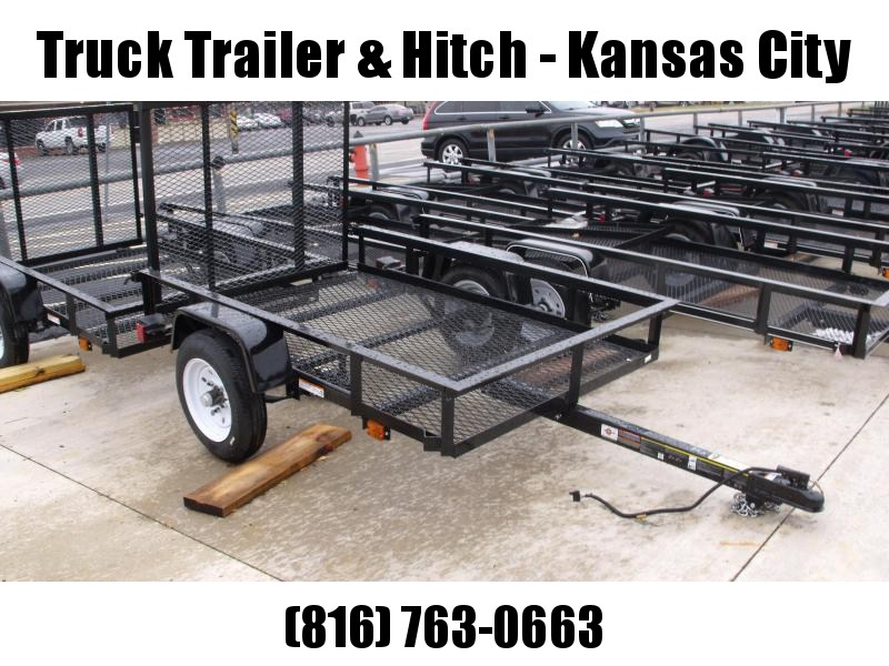 Utility Trailer 4 X 6 Mesh Floor Rear Gate