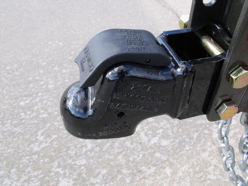 Utility Trailer ATV Trailer 83 X 16 Pipe Rail Top 4 Axle  Brakes 7000 GVW