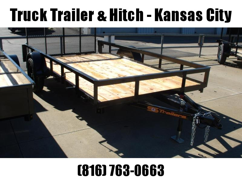 Utility Trailer 77 X 12 Dove 2995 Axle With Spring Assisted Gate