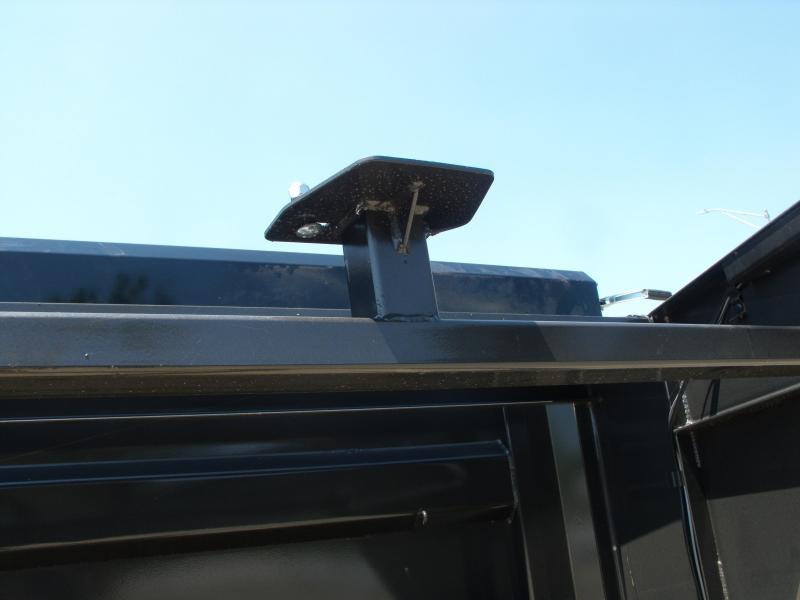 "Gooseneck Dump Trailer 83"" X 16     Hi Wall 4'      17600 GVWR"