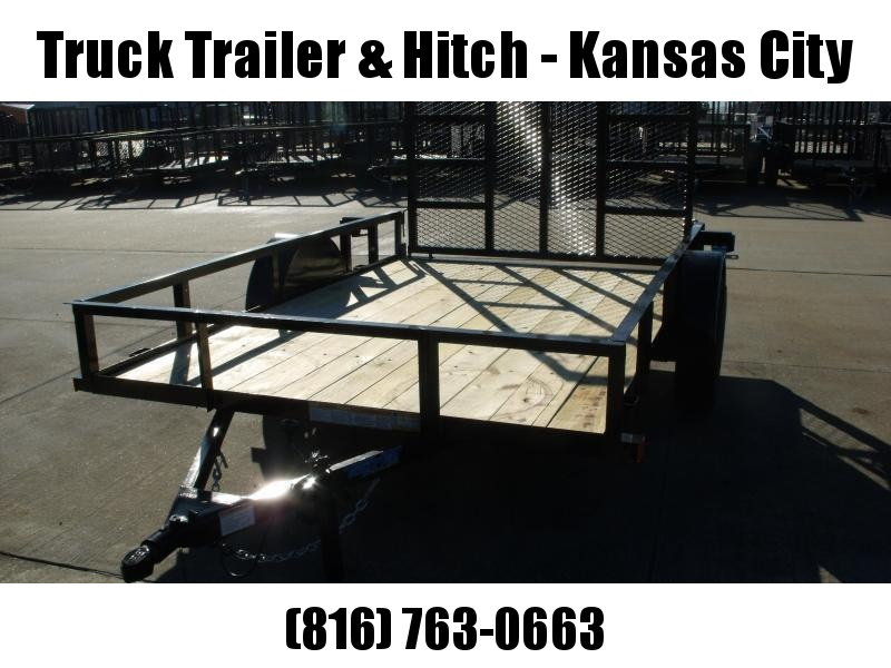 Utility Trailer 77 X 10  HD  Gate 2990 Axle