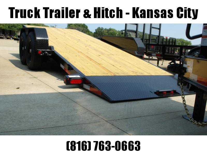 """Tilt Equipment Trailer        83"""" X 18'     14000 GVWR 4 WL Brakes   """""""" TILT DECK SHOCK 14K """""""""""