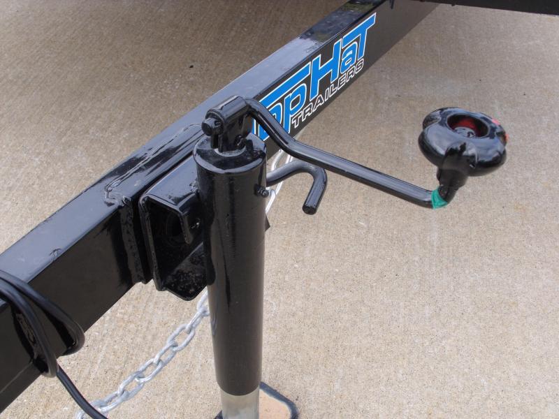 Utility Trailer 77 x 12    Pipe Rail Top  Rear   Gate 2990 Axle
