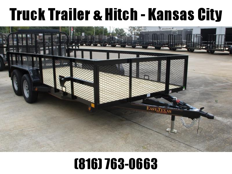 High-Wall  Landscape Trailer 83 X 16  Ramp 7000 GVW