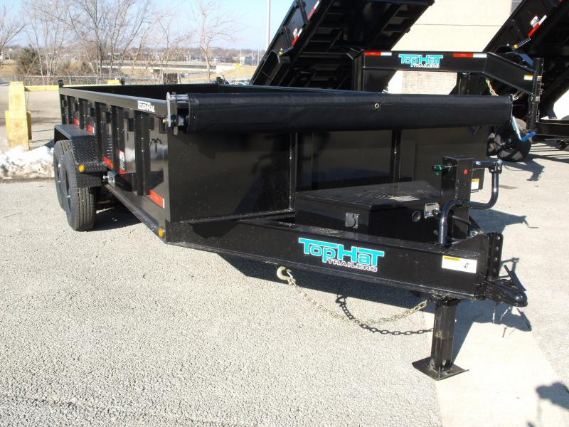 Dump Trailer 7 x 16 Power Up/ Power Down    14000 GVW   Dump Trailer