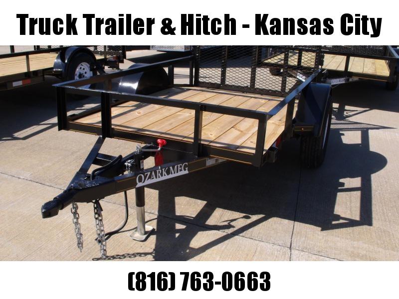 Utility Trailer 5 X 8  Dove Tail  Ramp 2990 Axle