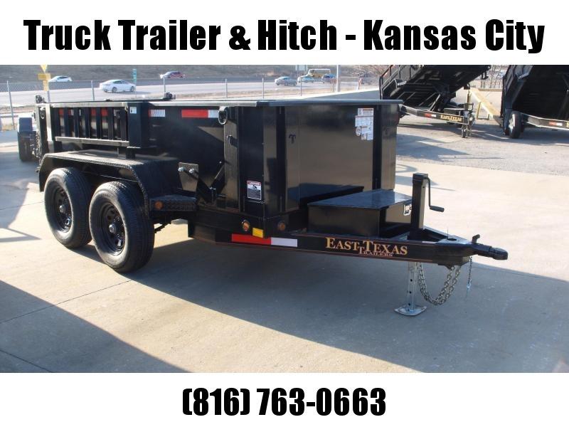 Dump Trailer 5 X 10  Spreader Gate 9990 GVW Tarp Included  4 Wheel Brakes
