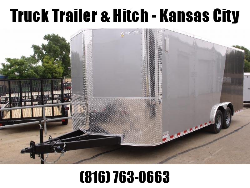 """Enclosed Trailer 8.5 X 20 Ramp With 4"""" Dove  7' Height Razor Trailer   10.400 GVW ALL Tube Construction"""