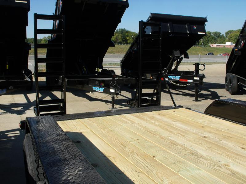 Equipment Trailer 83 X 16 Dove 14000 GVWR