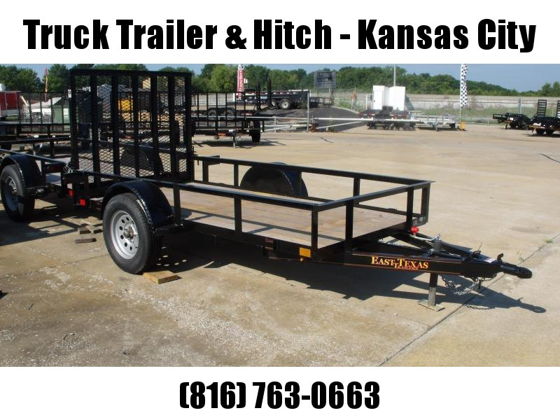Utility Trailer 5 X 10 Ramp 2990 Axle  Spring Assisted Gate